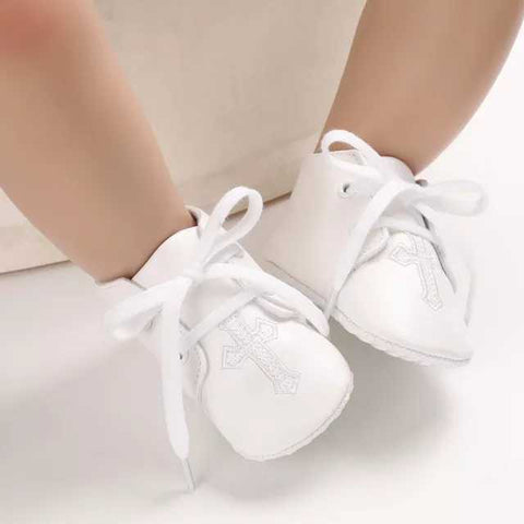 Christening Infant Baby Cross Style 2 Shoes