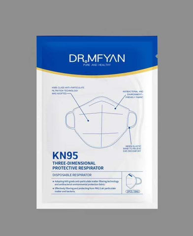 KN95 Face Mask Three Dimensional Protective Respirator