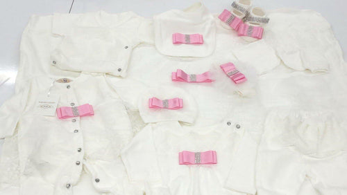 10pcs Precious Set - White/Pink