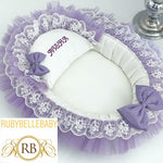 Aisha Bed Set- Lilac