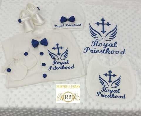 6pcs Royal Priesthood Set - Royal Blue