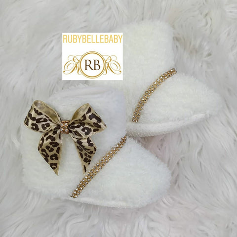 Warm and Cozy Winter Newborn Infant Baby Booties