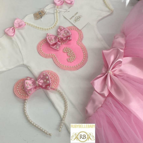 Minnie Birthday Girl Set - RUBYBELLEBABY