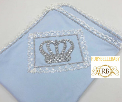 Bling Bling Laced Crown Blanket - All Colors