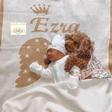 3D Custom Maxi Big Size Baby Throw Blanket - All Colors