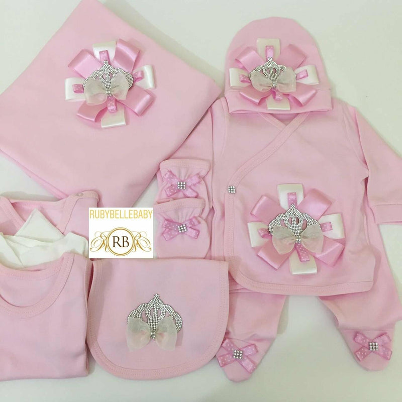 10pcs Princess Set - Pink - RUBYBELLEBABY