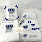 7pcs HRH Crown Set - Blue