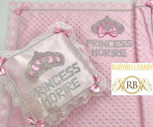 Blanket and Pillow Set - Pink