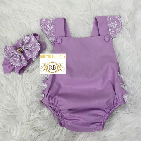 Ava Set - Purple