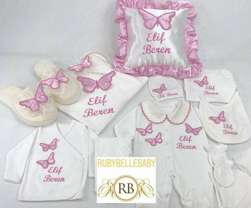 14pcs Butterfly Set -  All Colors - RUBYBELLEBABY