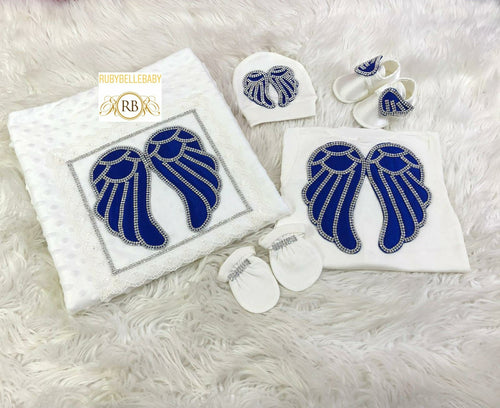 5pcs Wings Set - Royal Blue