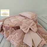 Bella Bed Set - Blush