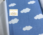 Dream Clouds 3D Custom Maxi Big Size Baby Throw Blanket - All Colors