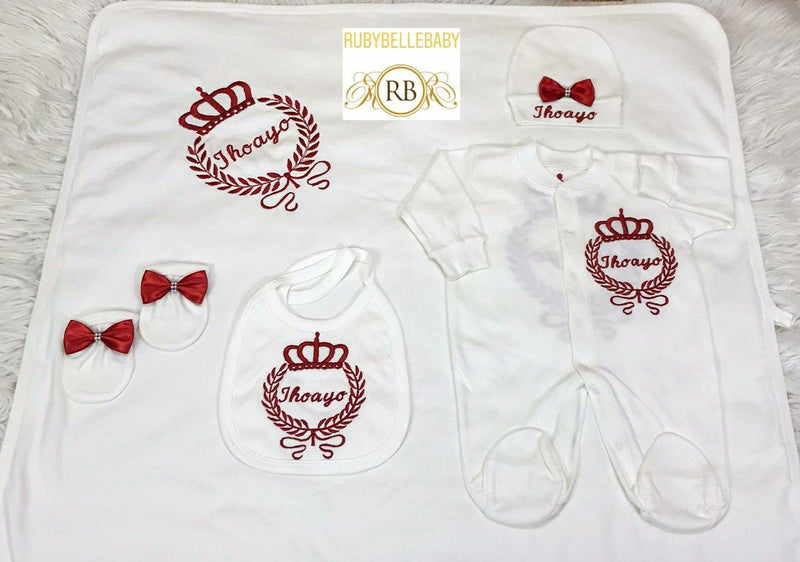 10pcs Embroidery Set - Red
