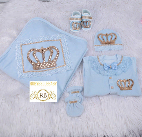 5pcs HRH Set - Blue
