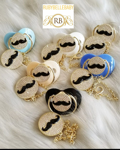 Moustache Pacifier - More Colors