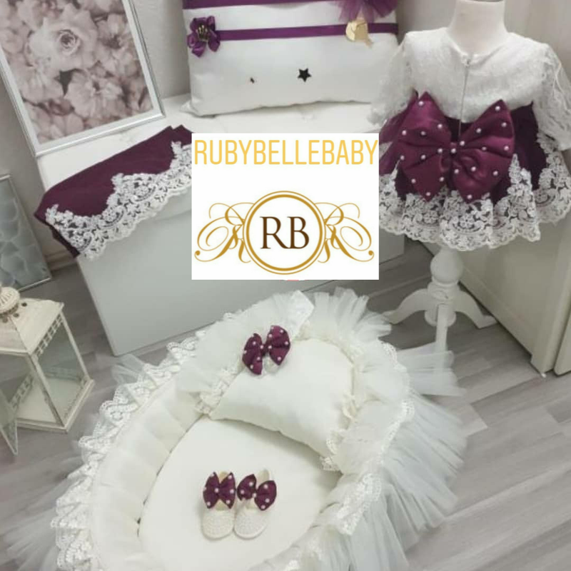 5pcs Violet Nest Dress Set