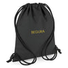 Begura Black Reflective Gymsac - BEGURA