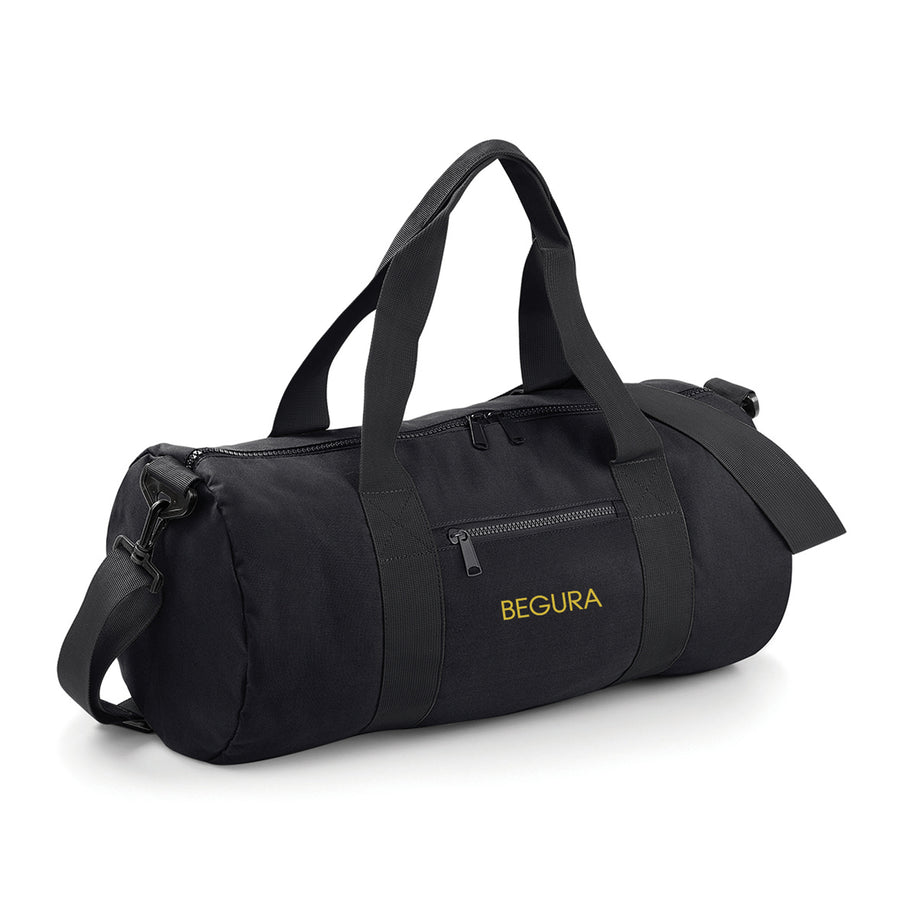 Begura Black Barrel Bag - BEGURA