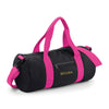 Begura Black Pink Barrel Bag - BEGURA