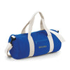 Begura Blue White Barrel Bag - BEGURA