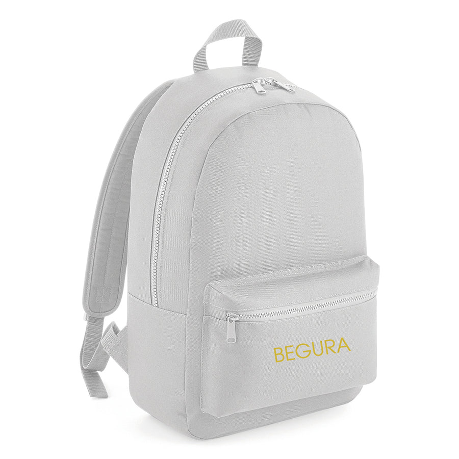 Begura Light Grey Leisure Backpack - BEGURA