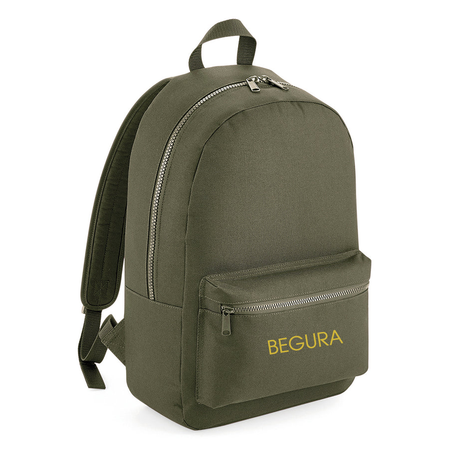 Begura Dusty Green Leisure Backpack - BEGURA