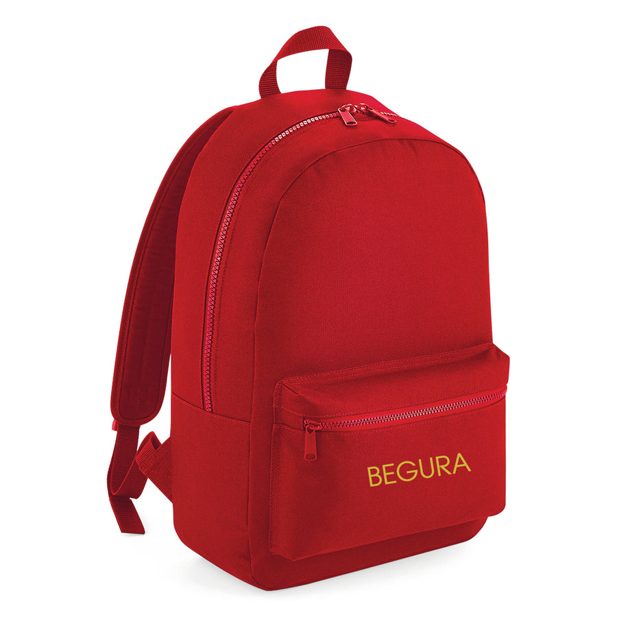 Begura Red Leisure Backpack - BEGURA