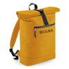 Begura Mustard Roll-Top Backpack - BEGURA