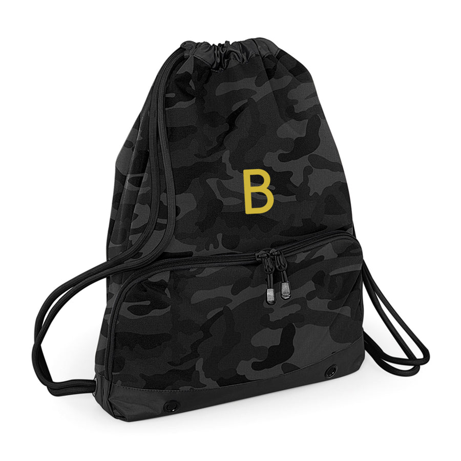Begura Black Camo Leisure Gymsac - BEGURA