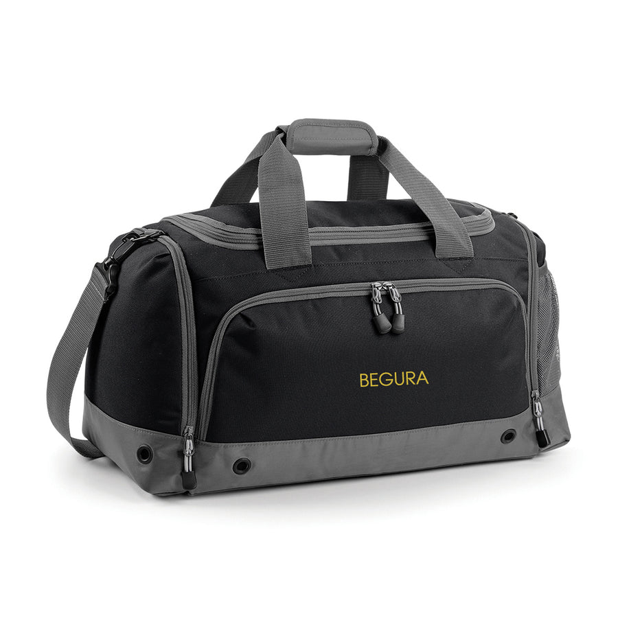 Begura Black Grey Holdall Bag - BEGURA