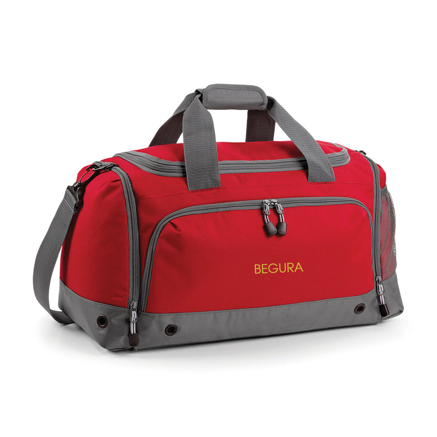 Begura Red Holdall Bag - BEGURA