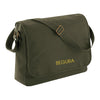 Begura Dusty Green Cotton Canvas Messenger - BEGURA