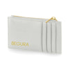 Begura Unisex Soft Grey Leather Look Wallet - BEGURA