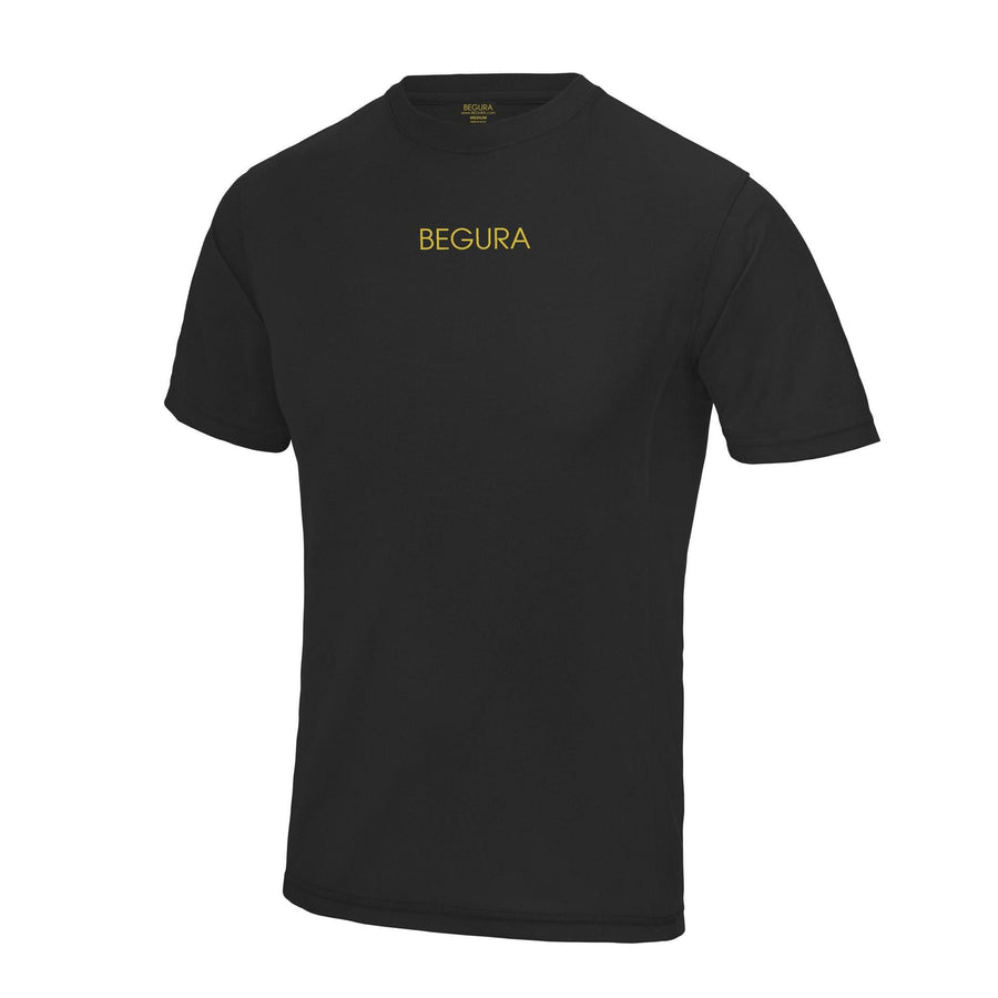Sports Black T-Shirt - BEGURA
