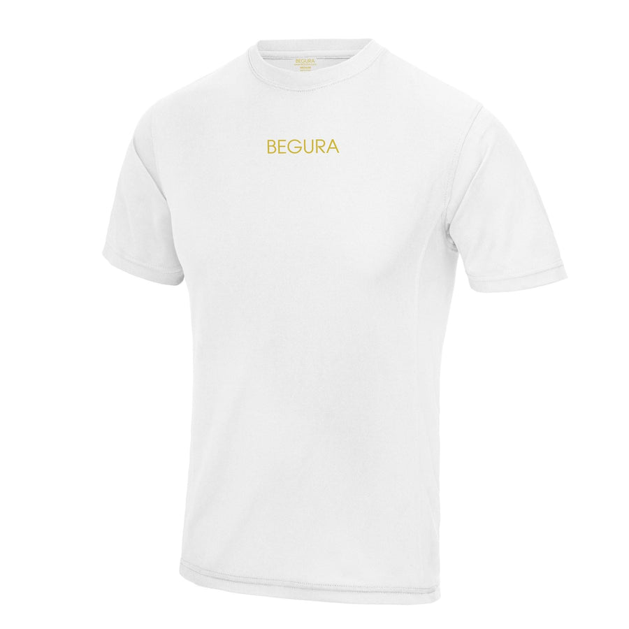 Sports White T-Shirt - BEGURA