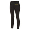 Female Athletic Black Leggings - BEGURA