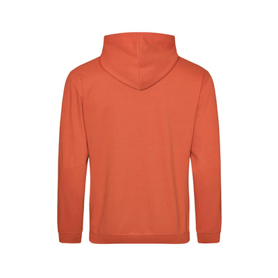 Begura Burnt Orange Men Hoodie - BEGURA