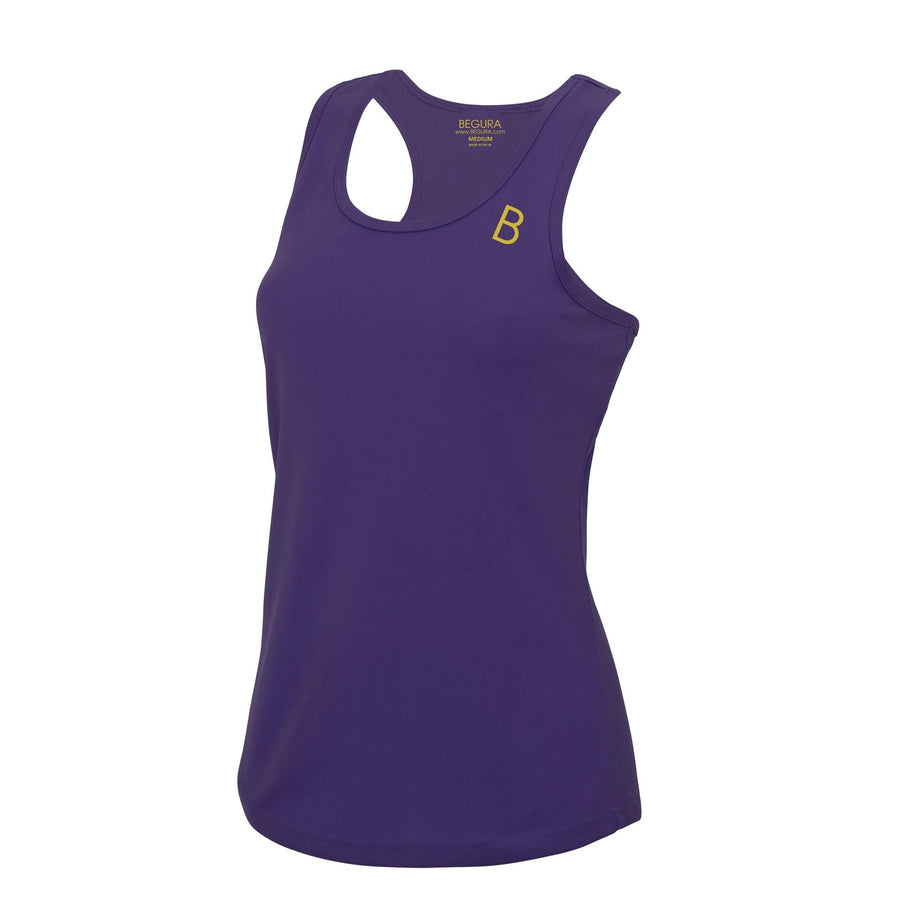 Performance Begura Purple Vest Top - BEGURA