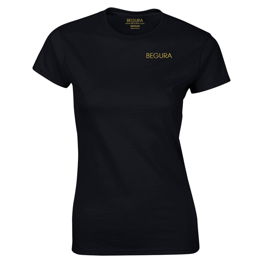 Begura Black Ladies Fitted T-Shirt - BEGURA