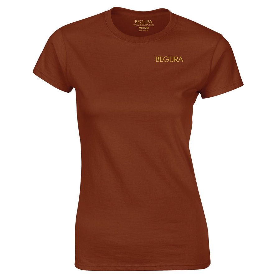 Begura Chestnut Ladies Fitted T-Shirt - BEGURA