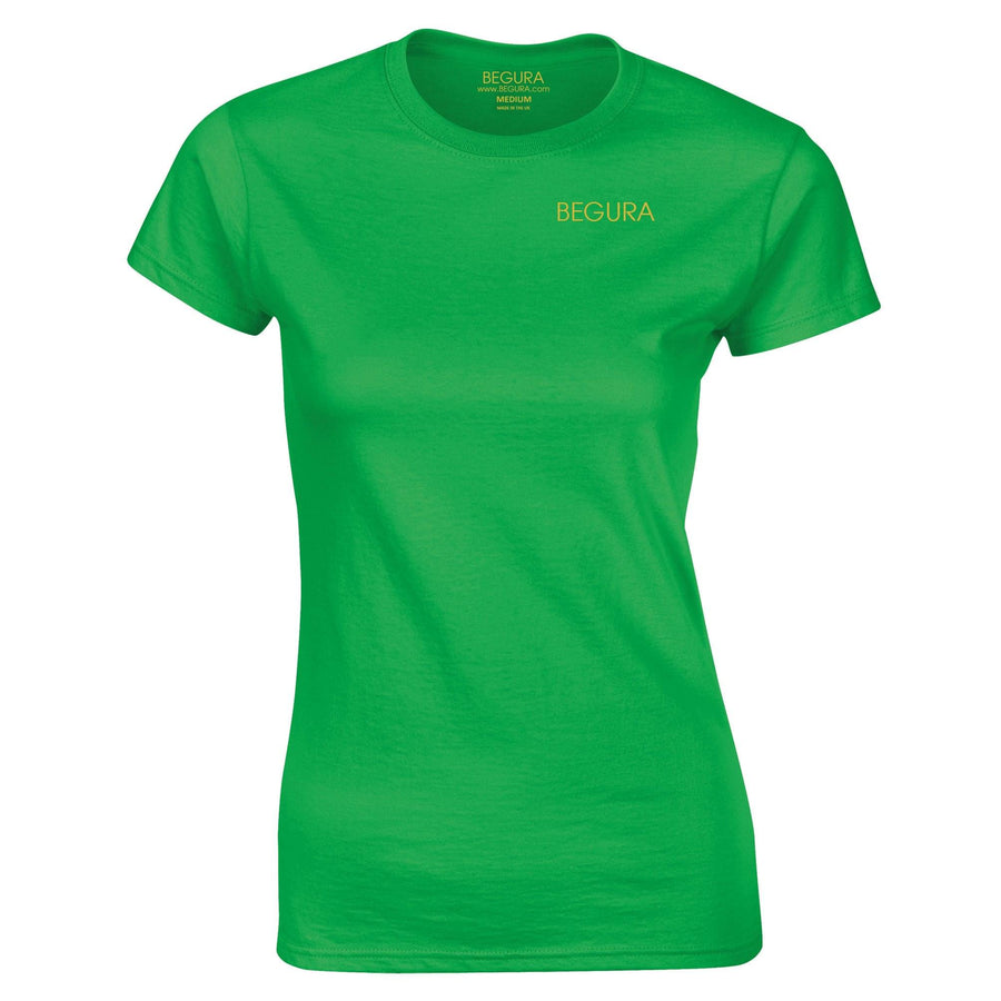 Begura Green Ladies Fitted T-Shirt - BEGURA