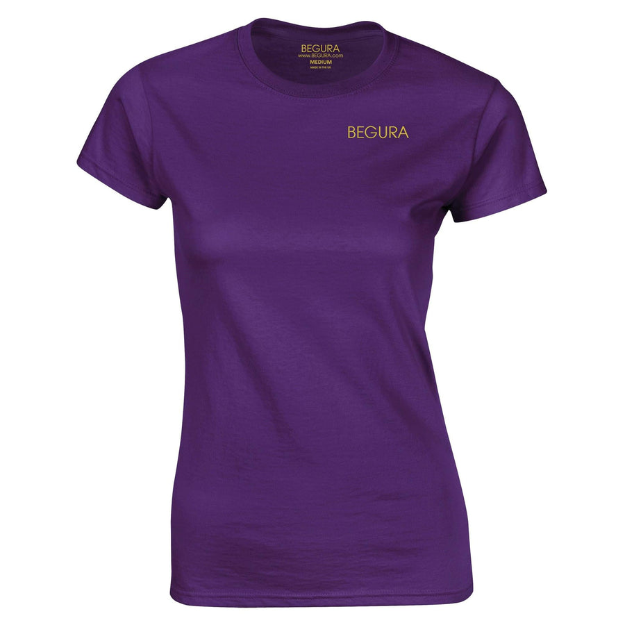 Begura Purple Ladies Fitted T-Shirt - BEGURA