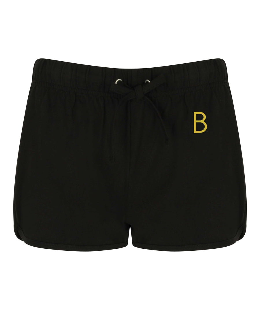 Female Jog Black Shorts - BEGURA