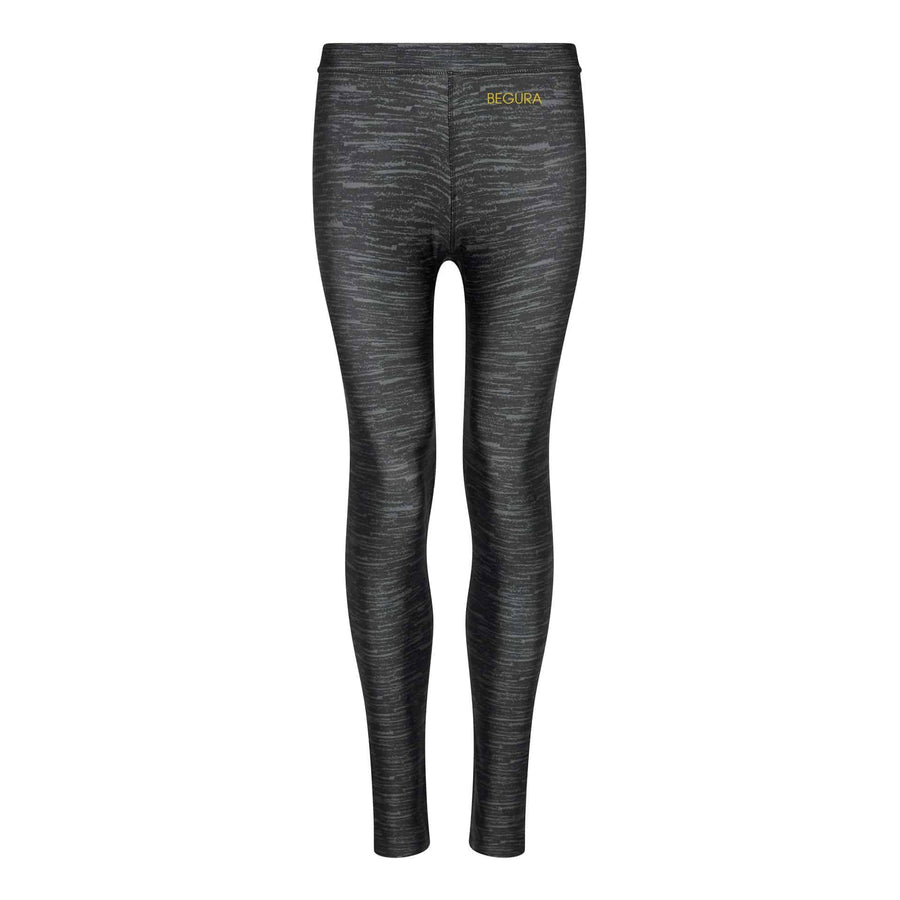 Female Pattern Charcoal Shock Leggings - BEGURA
