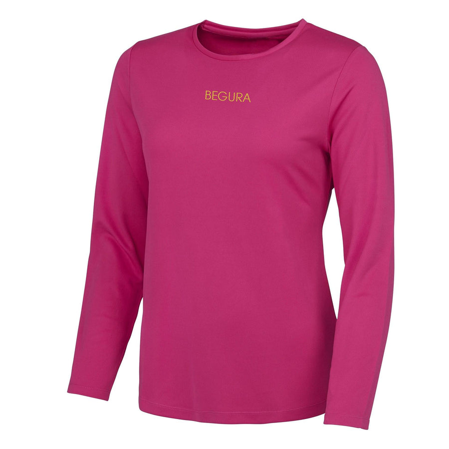 Performance Pink Long Sleeve - BEGURA