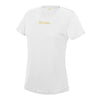 Female Sports White T-Shirt - BEGURA