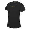 Female Sports Black T-Shirt - BEGURA