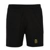 Kids Black Sport Shorts - BEGURA