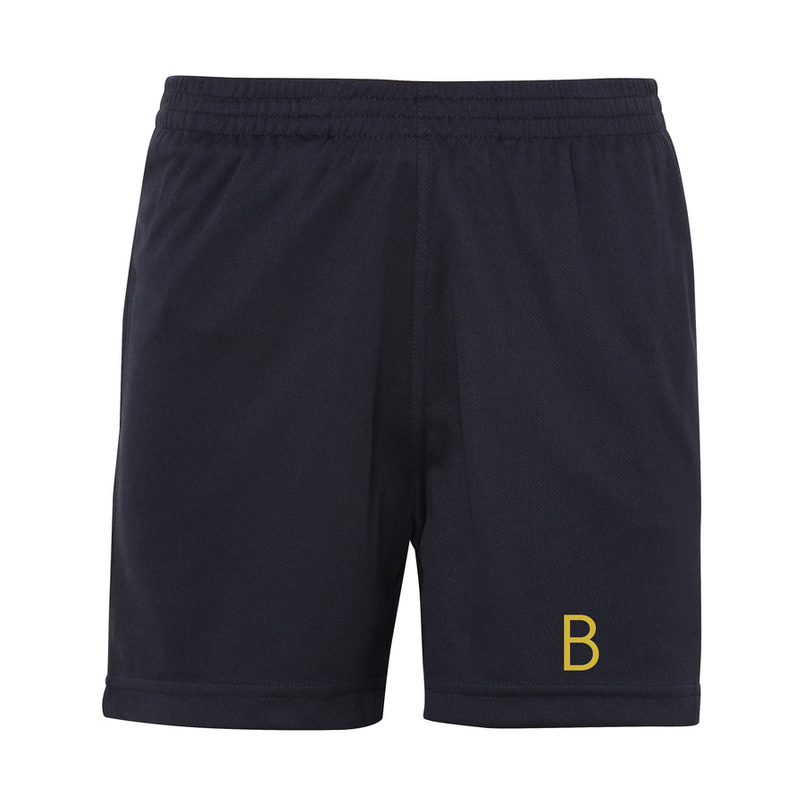 Kids Navy Sport Shorts - BEGURA